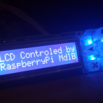 raspberry pi serial lcd output